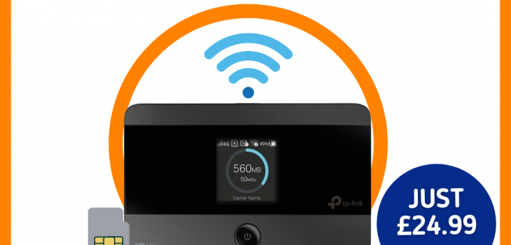 mobile broadband & unlimited data connection